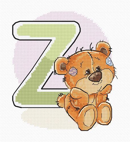 "B1227 Letter ""Z"""