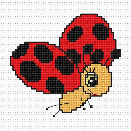B063 - Cross Stitch Kit Luca-S