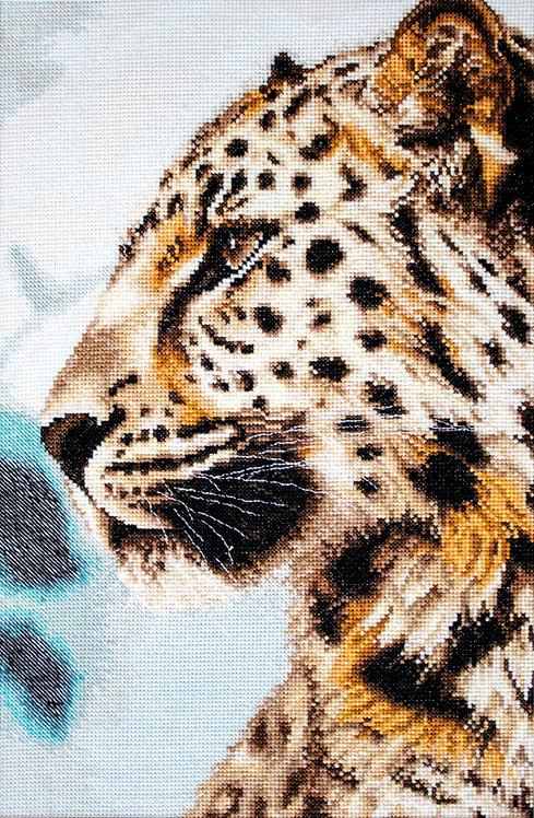 BU4006 El leopardo, Kit de punto de cruz Luca-S
