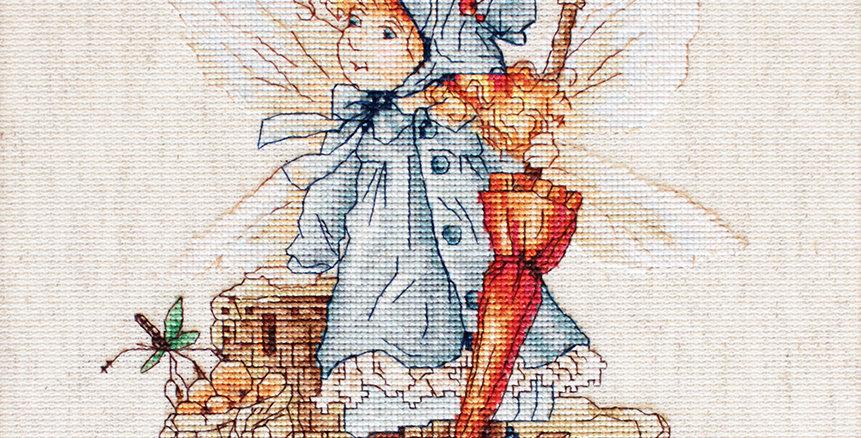 B1110 The Autumn Fairy - Cross Stitch Kit Luca-S