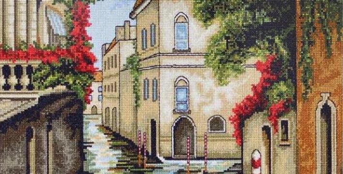 B240 Venice in flowers - Cross Stitch Kit Luca-S