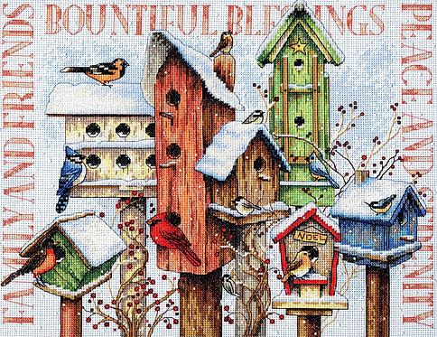 Winter Housing - 70-08863 Dimensions - Kit de punto de cruz