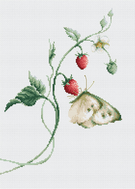 B2268 Aroma of Summer - Cross Stitch Kit Luca-S