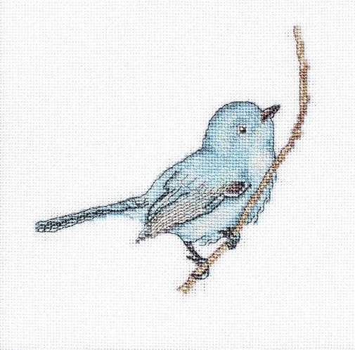 B11588 Bluebird, kit de punto de cruz Luca-S