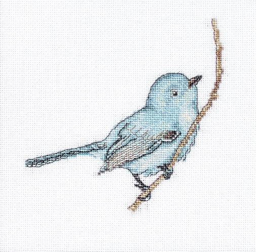 B11588 Bluebird - Cross Stitch Kit Luca-S