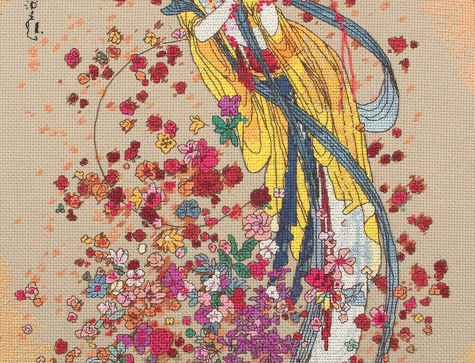 Maia Cross Stitch Kit - Goddess of Prosperity