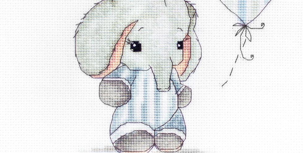B1134 Baby Boy - Cross Stitch Kit Luca-S