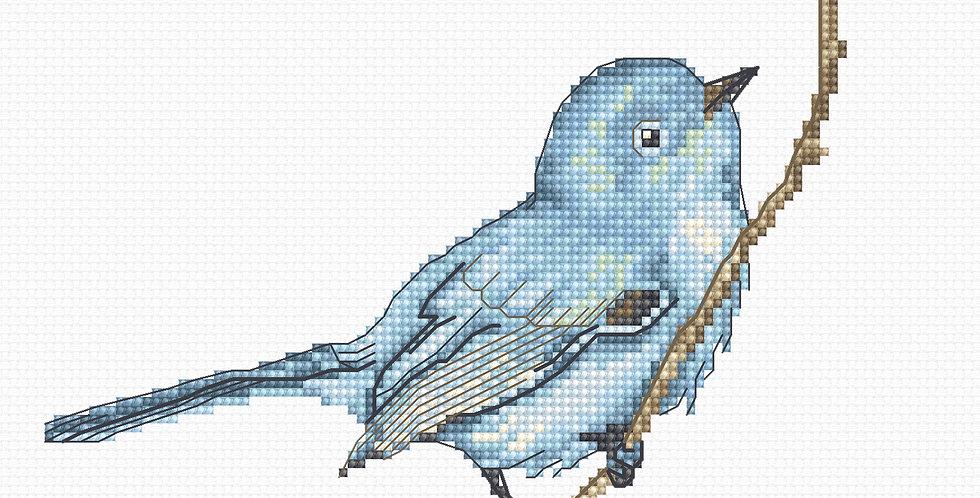 B1158 Blue Bird - Cross Stitch Kit Luca-S