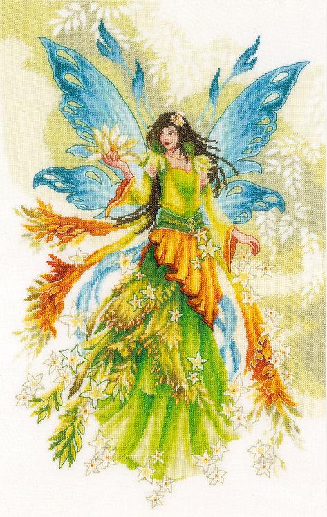Fantasy Elf Fairy - Lanarte - Kit de punto de cruz