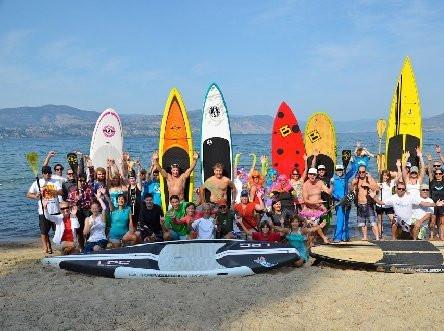 SUPs and Kayaks