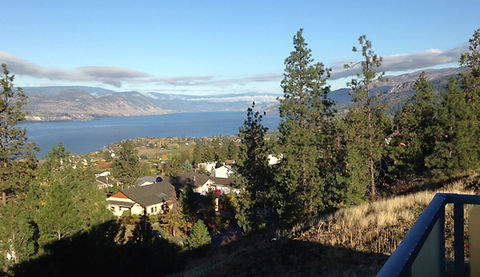 View of Okanagan Lake from the Suites