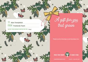 Alan Templeton TTC Gift Certificate 8100