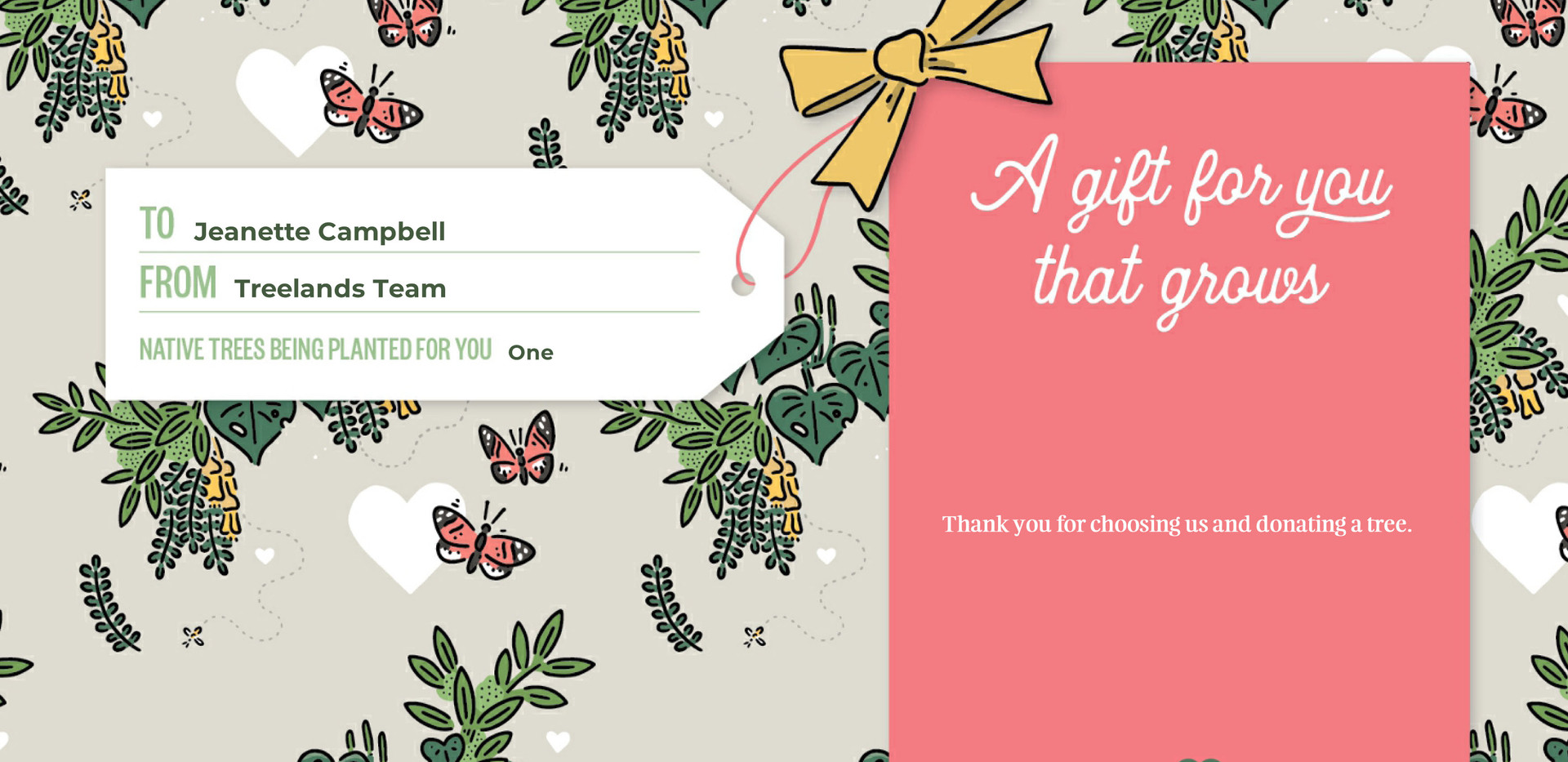 Jeanette Campbell TTC Gift Certificate 8