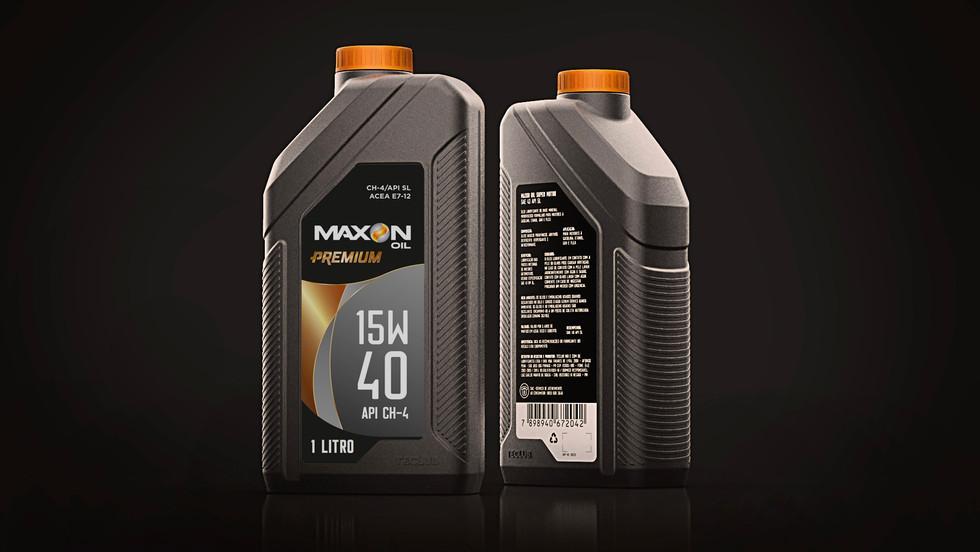 Embalagem Maxon Premium