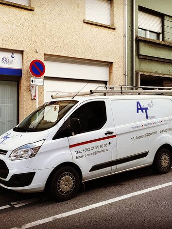 Asa Thermic - Lettrage camionette