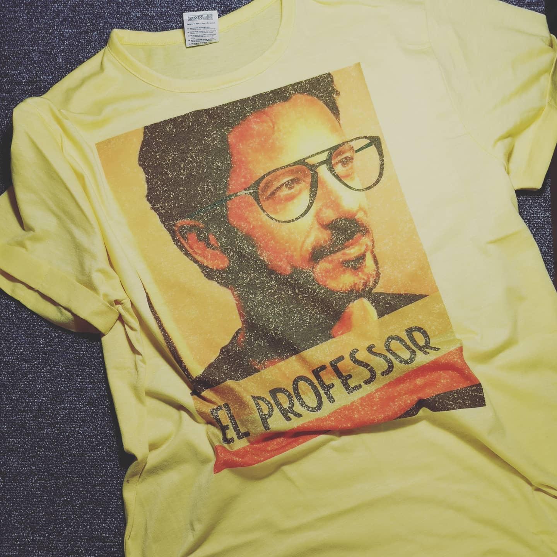 T-shirt El Professor