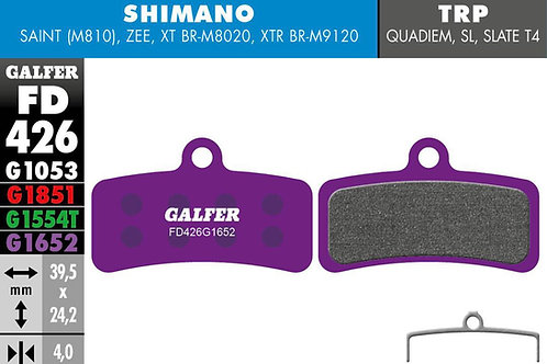 Galfer Brake Pads - Purple