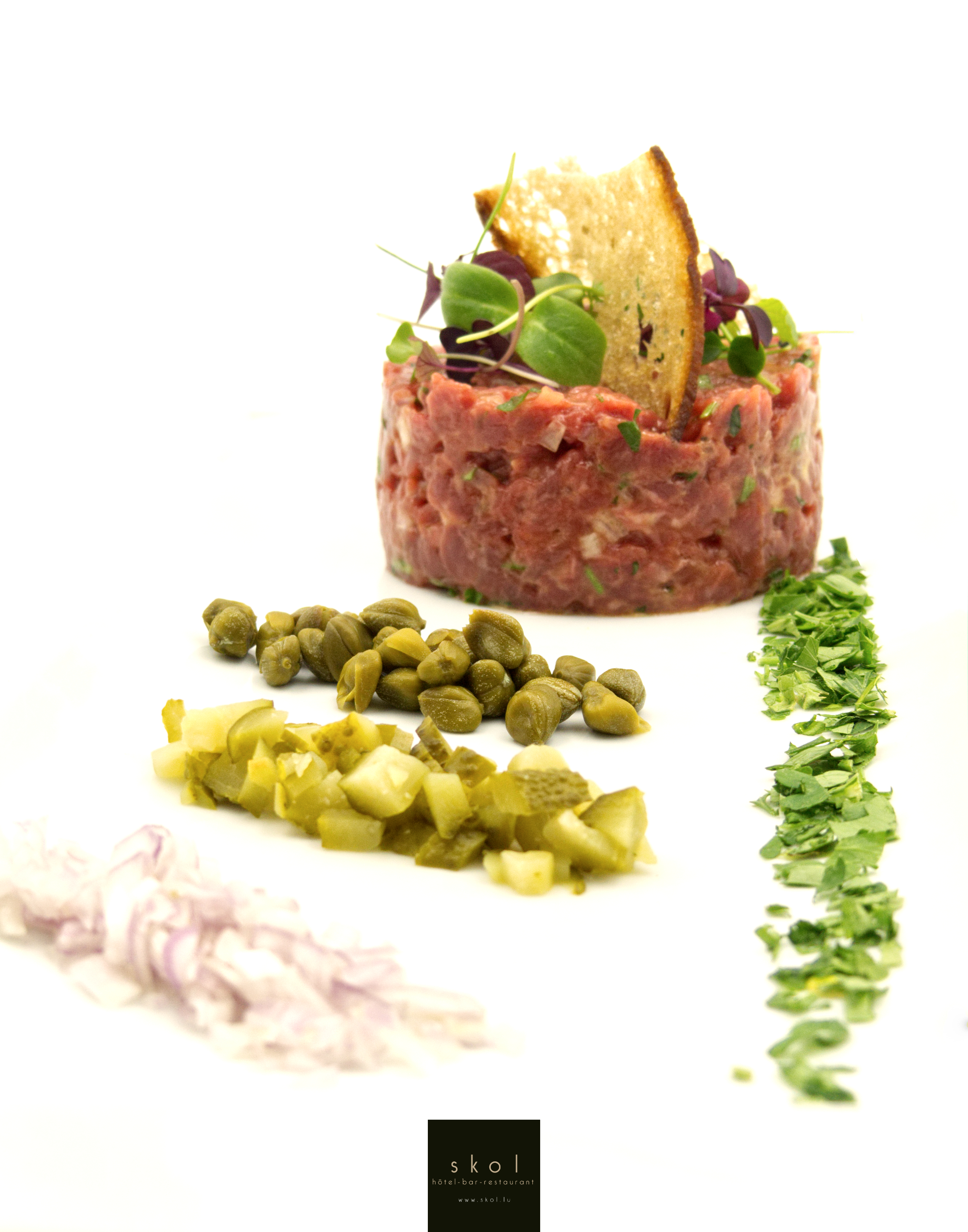 Photo - tartare de boeuf