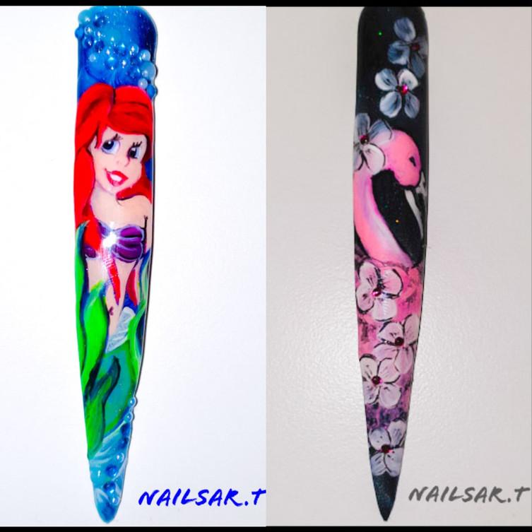 Nailstories - Disney