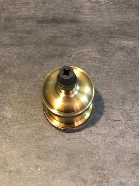 ランプソケット(ゴールド)