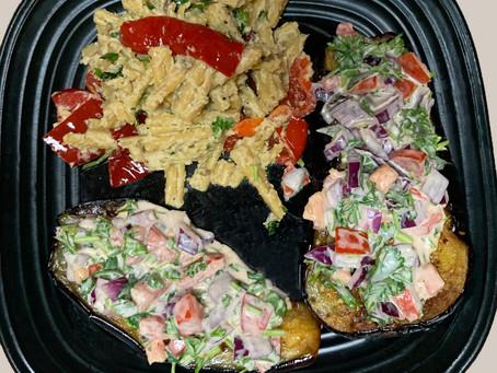 Pasta Salad With Tahini Dressing (K)