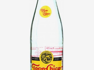 Topo-Chico Carbonated Mineral Water - Analyse