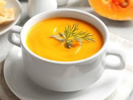 The Best Pumpkin Soup Ever!