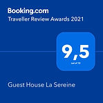 Booking - Traveller Review Avards 2021