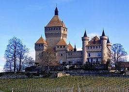 Vue du Château de Vufflens