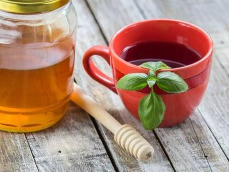 Basil Tea For Cough and Headaches