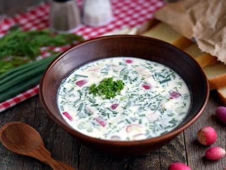 Raw Vegan Soup Okroshka (P)(A)(K)