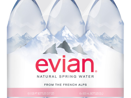 Evian Alpine Spring Water - Analyse