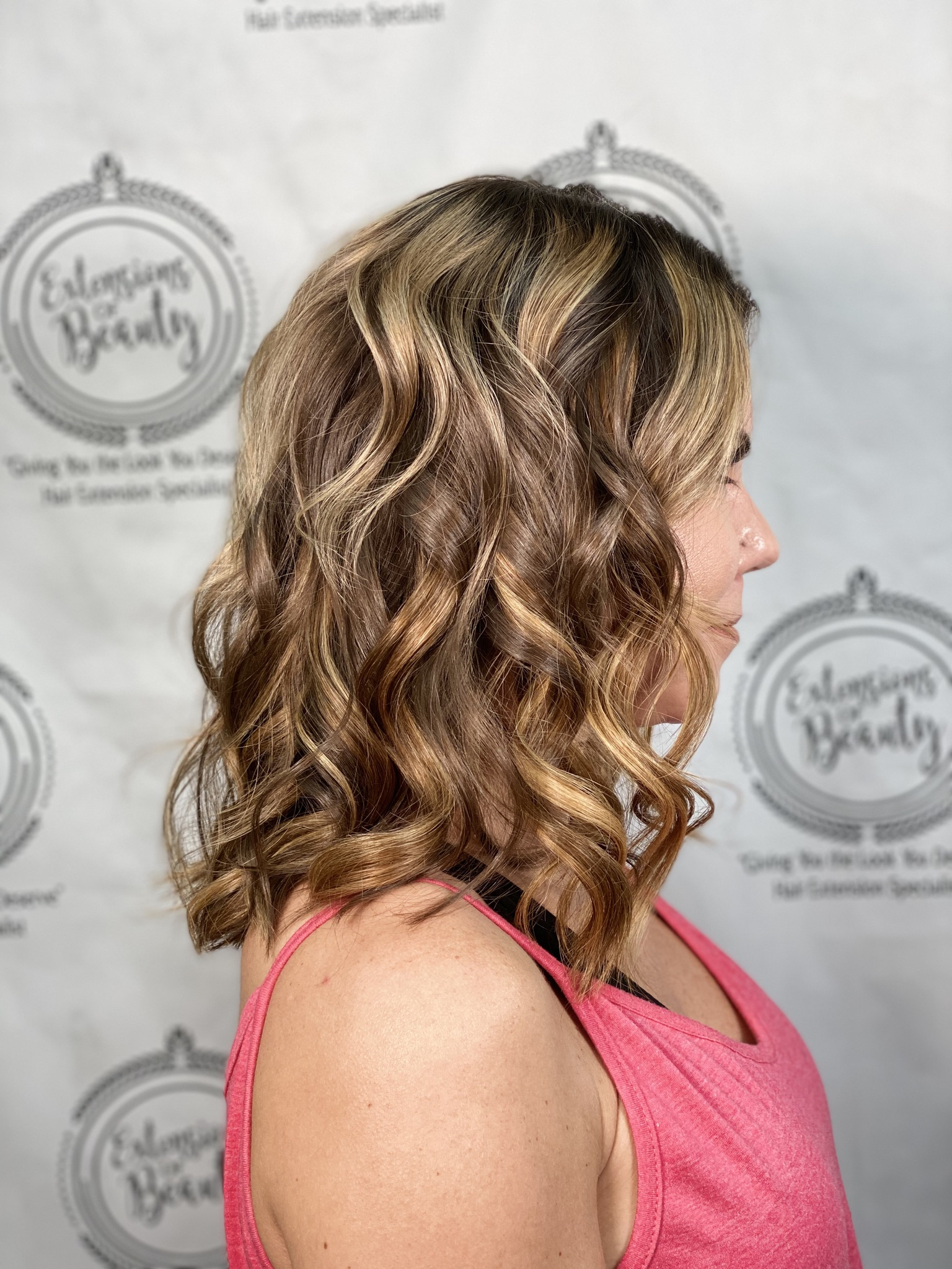 Highlights and Hair Extensions
