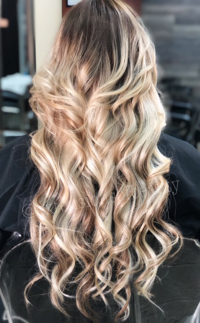 """22"""" Hair Extensions and Highlights"""