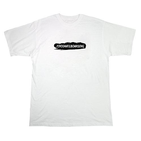 T-SHIRT BRUSH - WHITE