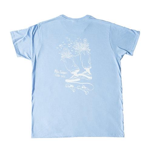 T-SHIRT SUMMER CLUB - BLUE