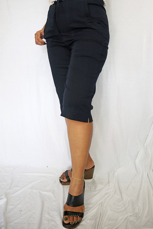 P3201 - Plain Navy  - Cotton Poplin
