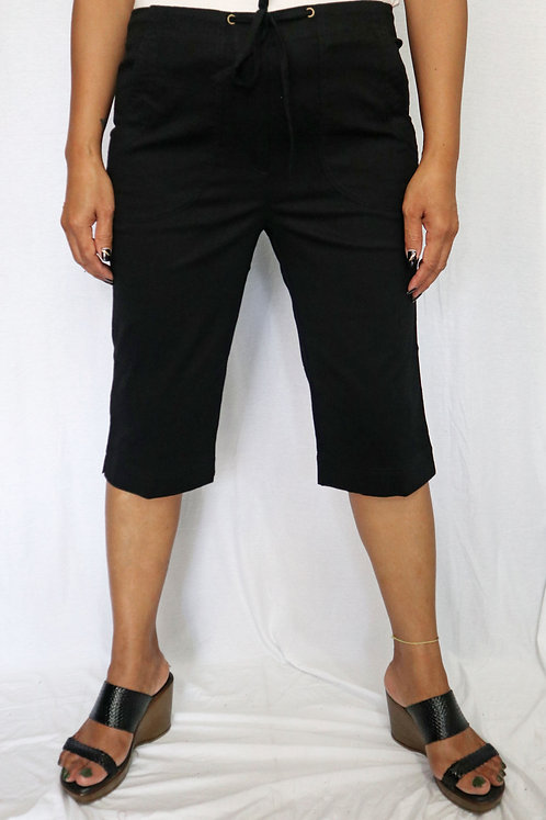 P3201 - Plain Black - Cotton Poplin
