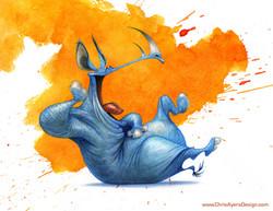 Day 2475 - Laughing Rhino