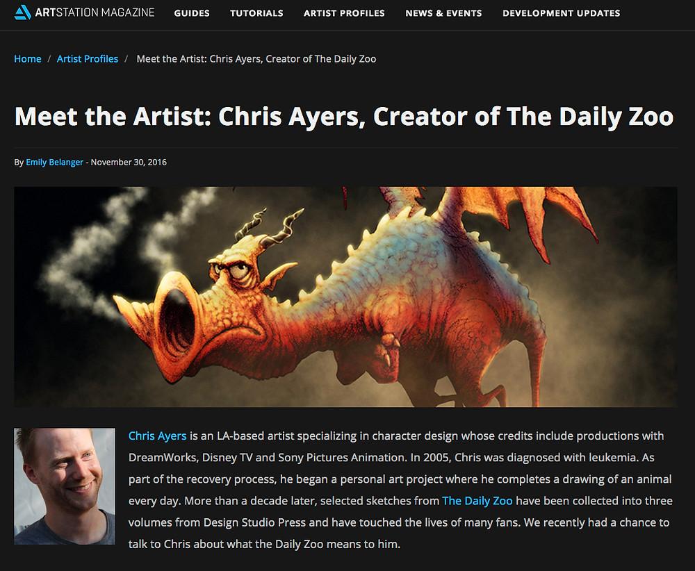 ArtStation Interview