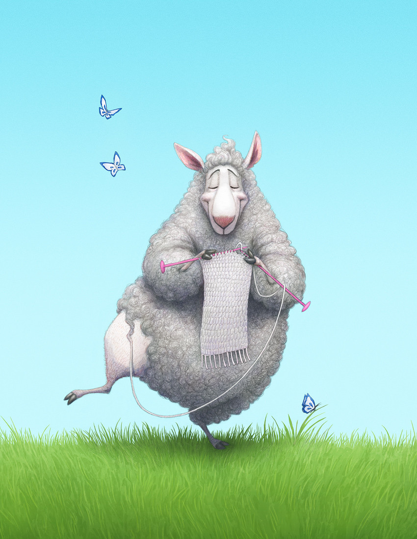 Knitting Ewe