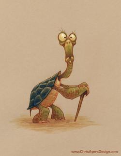 Day 1987 - Elderly Tortoise
