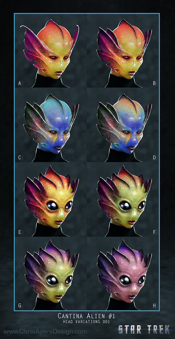 Cantina Alien Options