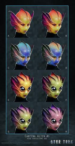 Cantina Alien Options
