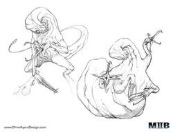 """Crab Hand"" Sketches"