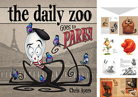 The Daily Zoo Goes to Paris!
