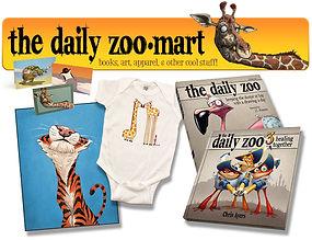 Animal shirts books prints The Daily Zoo