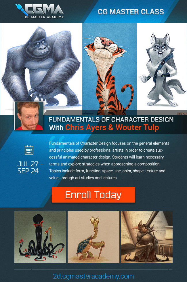 Fundamentals of Character Design Course