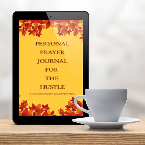 Prayer Journal for Hustle Through the Pain EBook (Digital)