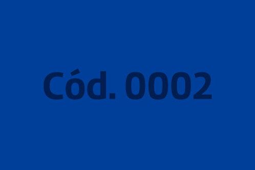 Tonalidade: Azul (8 cores)